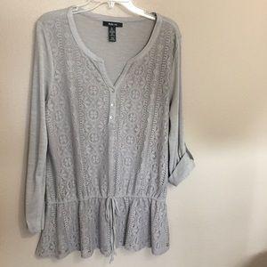 Style & Co. Lacey tunic size L EUC